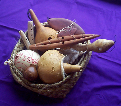 traditional Maori Instruments