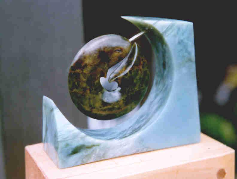 The bone studio and gallery jade stone gemstone